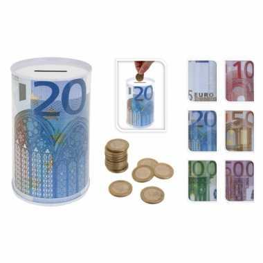 100 eurobiljet spaarpot 13 cm