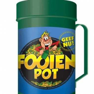 Fooien pot collecte bus