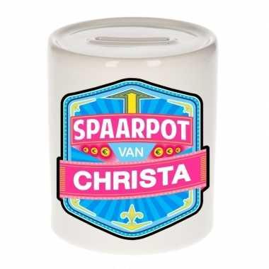 Kinder spaarpot voor christa