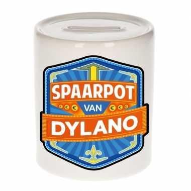 Kinder spaarpot voor dylano