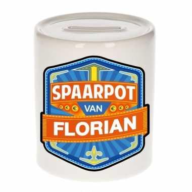 Kinder spaarpot voor florian