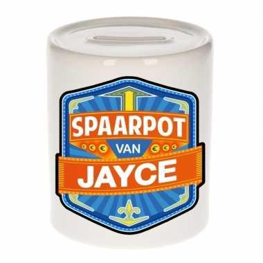 Kinder spaarpot voor jayce