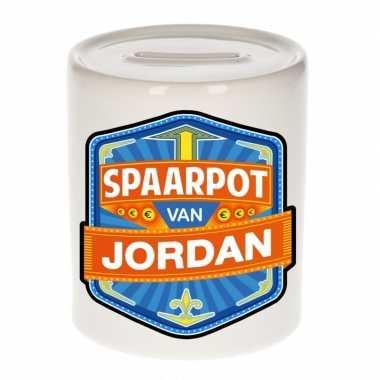 Kinder spaarpot voor jordan