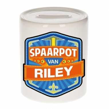 Kinder spaarpot voor riley