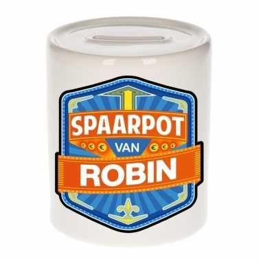 Kinder spaarpot voor robin