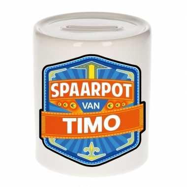 Kinder spaarpot voor timo