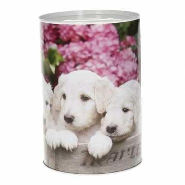 Puppy spaarpot 15 cm type 1