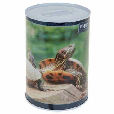 Schildpad spaarpot 15 cm