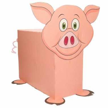 Sinterklaas - varken zelf maken knutselpakket