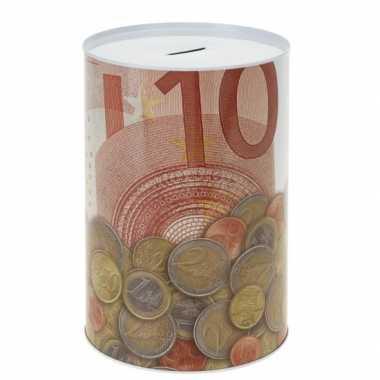 Spaarpot 10 euro biljet