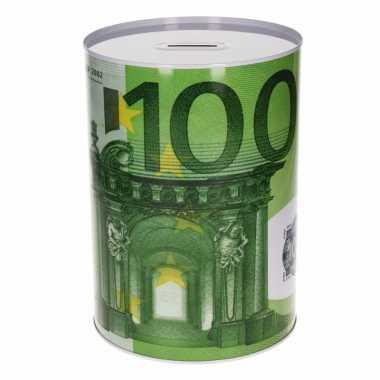 Spaarpot 100 euro biljet 22 cm