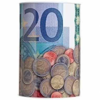 Spaarpot 20 euro biljet 15 x 22 cm