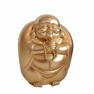 Spaarpot boeddha goud