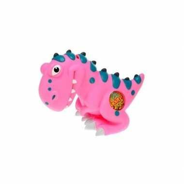 Spaarpot dinosaurus roze