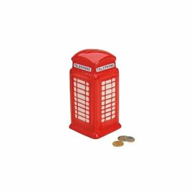 Spaarpot engelse telefooncel 19 cm