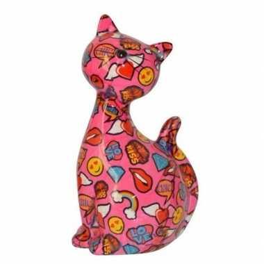 Xl spaarpot kat poes type 1 30 cm