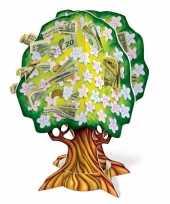 Geboorte babyshower geldboompje 38 cm
