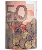 Spaarpot 50 euro biljet 15 x 22 cm
